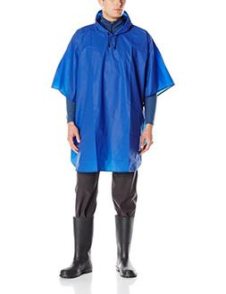 Charles River Apparel Men's Cyclone Eva Poncho, Royal, One S