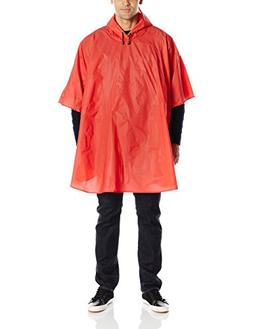 Charles River Apparel Men's Cyclone Eva Poncho, Red, One Siz
