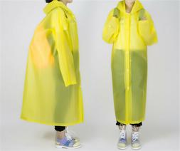 Disposable Emergency Waterproof Rain Coat Poncho Cover Hikin
