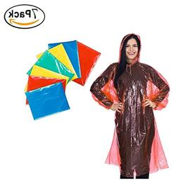 Premium Disposable Rain Poncho for adults  Best emergency di