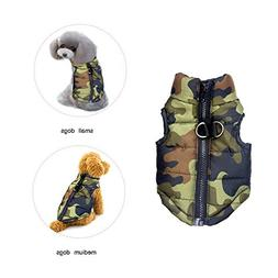 BESAZW Dog Coat Jacket Warm Dog Clothes for Cold Weather Out