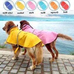 XS-XXL Waterproof Dog Puppy Rain Jacket Cute Rain Coat Cloth