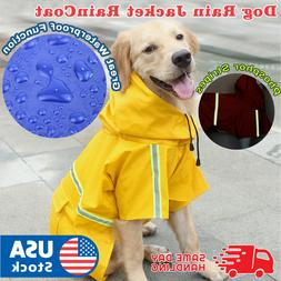 Dog Puppy Rain jacket RainCoat Clothes waterproof small XL s