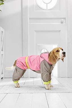 Medium Dog Raincoat For Beagle Italian Greyhound Cocker Span