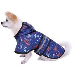 dog raincoat hooded slicker poncho for small