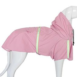Dog Raincoat Leisure Waterproof Lightweight Dog Coat Jacket