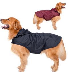 Dog Raincoat Waterproof Clothes Big Pet Coat Plus Size for O