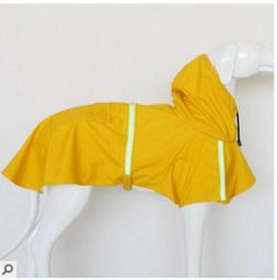 Dog Raincoat Waterproof Outdoor pet Doggie Rain Coat Rainwea