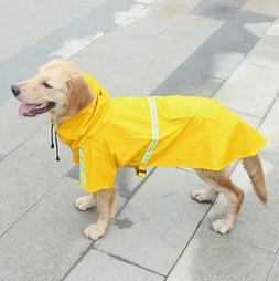 Dog Raincoat Waterproof Outdoor pet Doggie Rain Coat