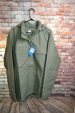 Columbia Dr. Downpour II Rain Jacket - Mens XL - NWT