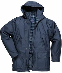 Portwest Dundee Lined Jacket Coat Waterproof Outdoors Work W