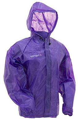 Frogg Toggs Emergency Jacket, Women's, Purple, Size Small/Me