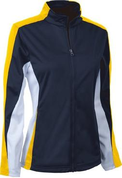 Girls Energy Jacket. 4494 - Medium - Navy / Gold / White