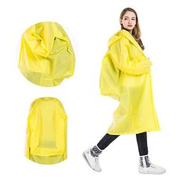 Jinhe Environmental protection EVA adult raincoat with backp