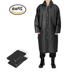 EVA Rain Ponchos Coat Portable Raincoat Reusable Rain Poncho