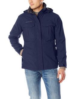Fashion Winter Heated Men's Dr. Downpour Rain Jacket