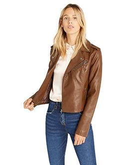 Levi's Women's Faux Leather Asymmetrical Motorcycle Jacket