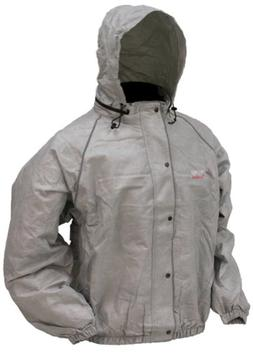 frogg toggs Men's Road Toad Reflective Wind and Rain Jacket-
