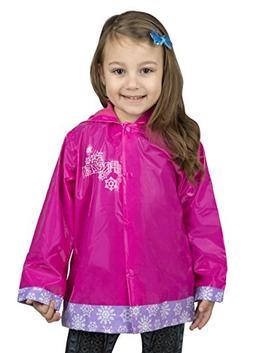 Disney Frozen Girls Rain Coat - Toddler