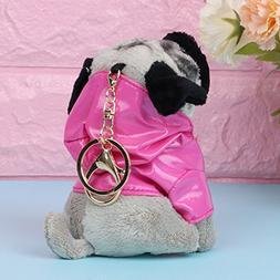 Lvyuanda Funny Cute Raincoat Pugger Dog Dolls Puppy Dog Bag