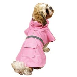 Guardian Gear Rain Jacket for Pets, X-Large, Pink