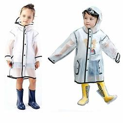 Gigabit Kids Raincoat Clean Rain Coat Jacket Poncho for Boys