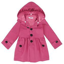 Arshiner Girl Baby Kid Hooded Coat Jacket Outwear Raincoat,