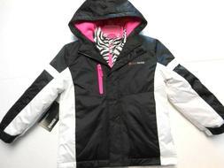 Girls jackets SwissTech Black White Pink Coats Outerwear Ski