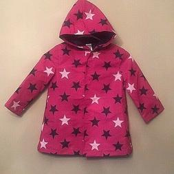 Girls Gymboree Star Rain Coat / Windbreaker VAR SIZES   NWT