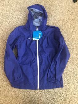 Columbia Girls Switchback Rain Jacket size Large  Purple $45