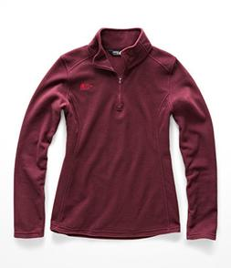 The North Face Women Glacier Quarter Zip - Fig - XL