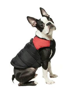 gooby padded vest dog jacket coat sweater