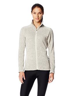 Charles River Apparel Women's Heathered Fleece Jacket, Oatme