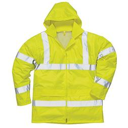Portwest Hi-vis rain jacket  Yellow S