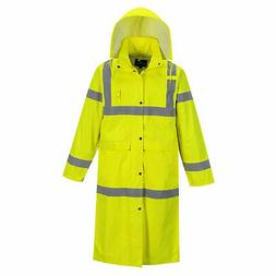 "Portwest Hi-Visibility Classic 48"" Yellow ANSI Class 3 Rain"