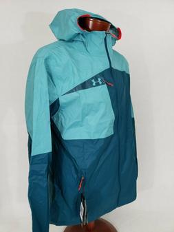 Under Armour Hooded Running Wind Breaker UA Storm Rain Jacke