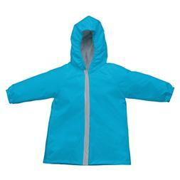 i play. Baby Lightweight Raincoat, Aqua, 18-24 Months