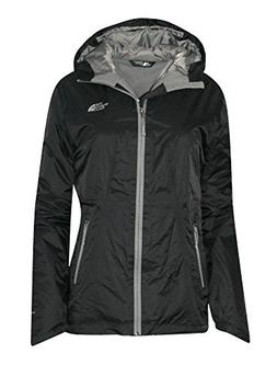 The North Face Womens Insulated Boreal Hooded Rain Jacket