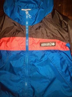 Insulated Toddler Boys Columbia Rain Jacket W Hood Coat Size