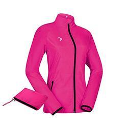 J. Carp Women's Packable Windbreaker Jacket, Lightweight a