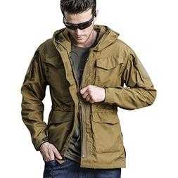 Men Outdoor Jacket Casual Tactical Waterproof Army Military