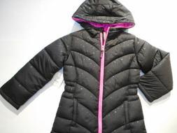 Jackets Girls outerwear Coats Black Puffer Bubble Jacket Ski
