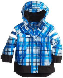 Helly Hansen K Moss Jacket, Cobalt Blue Check, 1