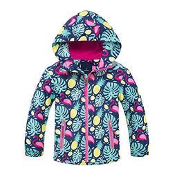 Jingle Bongala Kids Boys Girls Outdoor Waterproof Jacket Fle