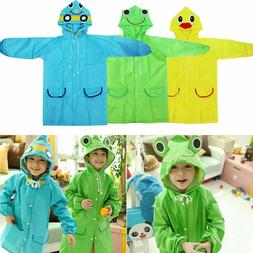 Kids Cartoon Animal Style Waterproof Raincoat For Children R