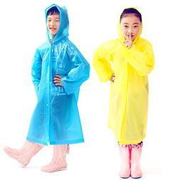 kids portable reusable rain poncho