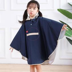 Kids Raincoat Outdoor Windproof Baby Rain Coat Poncho Boys G