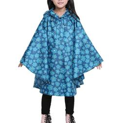 Kids Raincoat Outdoor Windproof Baby Rain Coats Poncho Boys