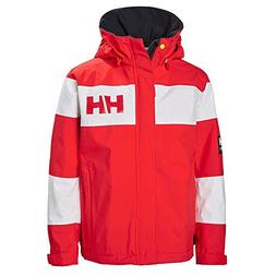 Helly Hansen Kids Salt Port Waterproof Quick Dry Lined Rain