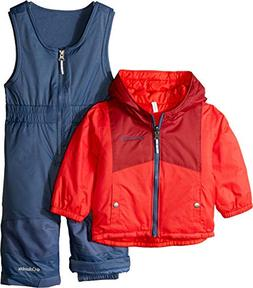 Columbia Kids Unisex Double Flake¿ Set  Red Spark/Red Eleme